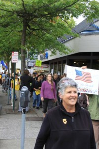 Kelli Linville at Occupy Bellingham