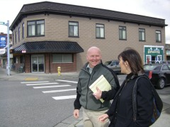 Gary Jensen with Suzan Delbene in 2012