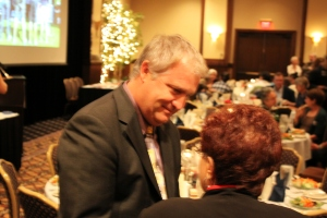Rep. Morris at the 2012 Eleanor Roosevelt Dinner