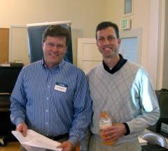 Glenn Morgan and Scott Roberts
