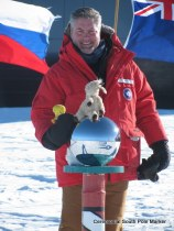 Ken Bell at the South Pole