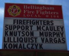 Bellingham firefighter endorsements