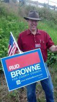 Rud Browne in Blaine