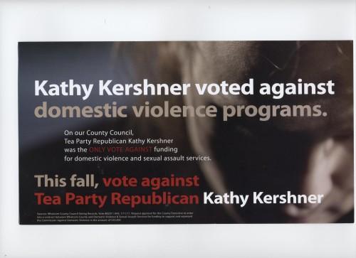 Kathy Kershner votes against women
