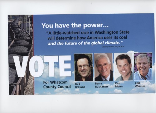 Youth Vote flyer from Whatcom Wins