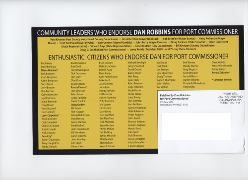 Dan Robbins side two
