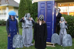 TARDIS, Costumes and more
