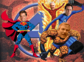 Vote Superheroes for Council: Buchanan, Mann, Weimer and Browne