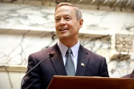 "Gov. Martin O'Malley was actually assembled from a Kmart ""construct-a-candidate"" kit. This is a deeply held secret. Sshh"