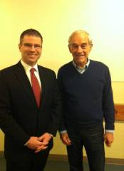 Rep. Overstreet and Ron Paul