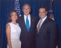 Pedro Celis and President Bush
