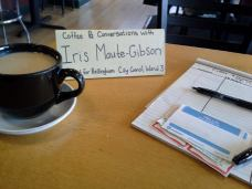 "Maute-Gibson hosts ""Coffee and Conversation"""