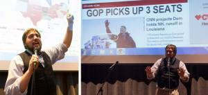 Shots from election night, courtesy of Matt McDonald with the Bellingham Herald