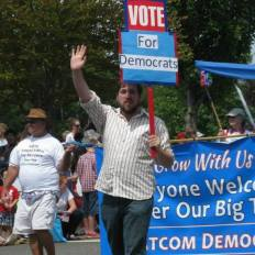 Riley with the Whatcom Democrats