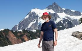 Andrew Reding and Mt. Shuksan